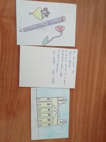 Angolos képeslapok