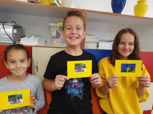 németes fotó a képeslapokkal