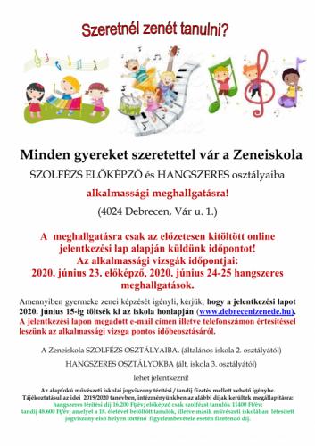 Felvételi plakát a Zeneiskolában 2020-2021 tanévre_001